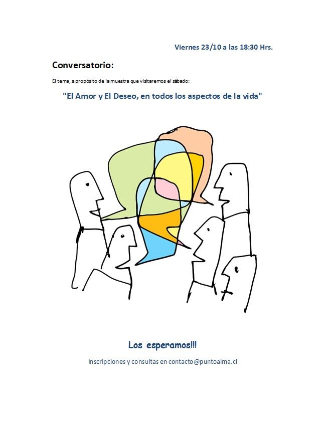 Comentarios Actividades y Conversatorios n°14 y 15 (Octubre 2015)